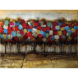 Patchwork Forest Wall Art