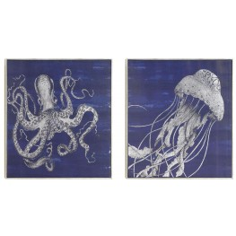 Sea Creatures Wall Art With Frame