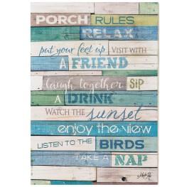 Rules Wall Art