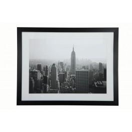 White and Black Frame Wall Art
