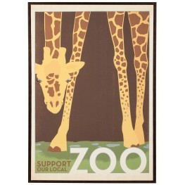 Brown and Golden Frame Wall Art