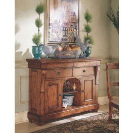 Tuscano Wood Top Sideboard