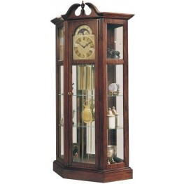 Richardson I Antique Cherry Curio Clock