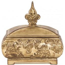 Ornate Gold Decorative Box