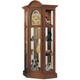 Richardson II Oak Lawn Curio Clock