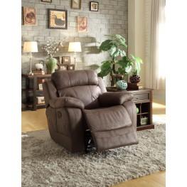 Marille Brown Glider Reclining Chair