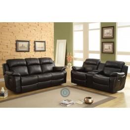 Marille Black Reclining Living Room Set