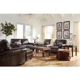 Canterelli Chestnut Living Room Set