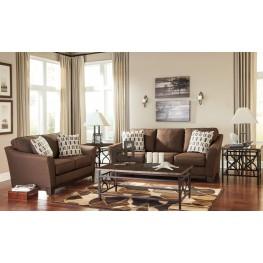Alara Chocolate Living Room Set