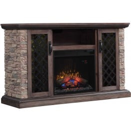 ClassicFlame Brushed Homestead Capitan TV Stand