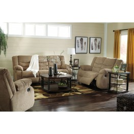 Tulen Mocha Reclining Living Room Set