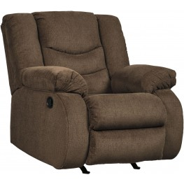 Tulen Chocolate Rocker Recliner