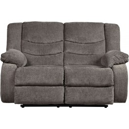 Tulen Gray Reclining Loveseat