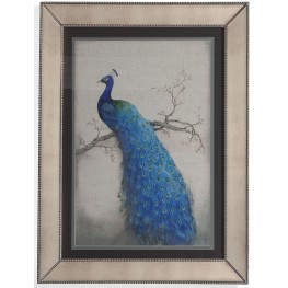 Peacock Blue II Wall Art