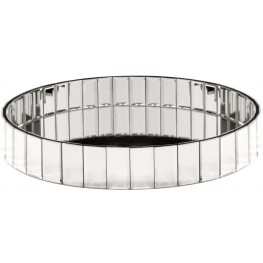 Circular Mirrored Tray