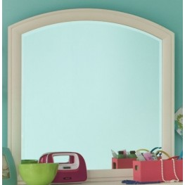 Park City White Arched Dresser Mirror