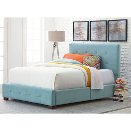 Madison Blue Full Upholstered Bed