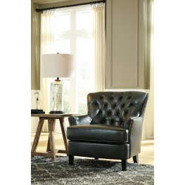 Azlyn Charcoal Accent Chair
