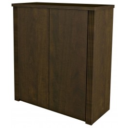 "Prestige Plus Chocolate 30"" Cabinet"