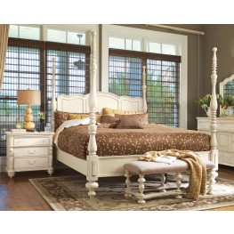 Paula Deen Home Linen Savannah King Poster Bed