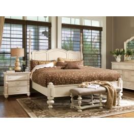 Paula Deen Home Linen Savannah Cal. King Poster Bed