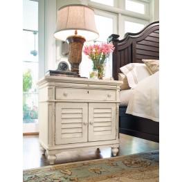 Paula Deen Home Linen 1 Drawer Door Nightstand