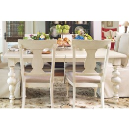 Paula Deen Home Linen Rectangular Extendable Dining Table