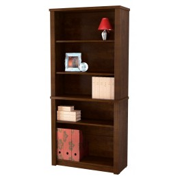 Prestige Plus Modular Bookcase In Chocolate