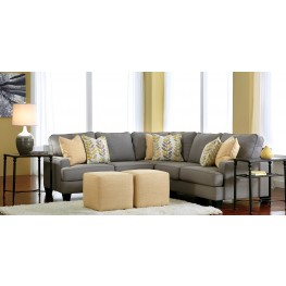 Chamberly Alloy Loveseat Sectional