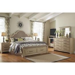Annilynn Upholstered Storage Bedoom Set