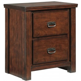 Ladiville Two Drawer Night Stand