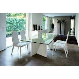 Sapphire White Dining Room Set