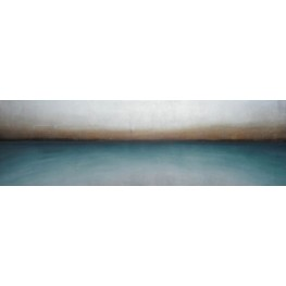 Teal Haze Canvas Wall Art