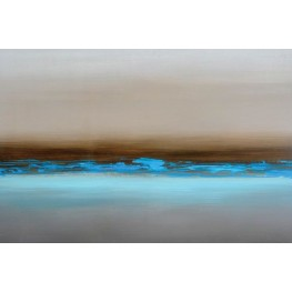 Blue Mist Canvas Wall Art