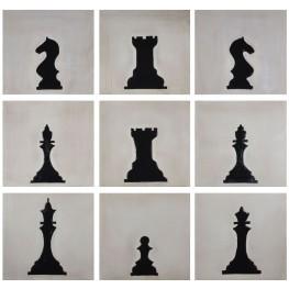Checkmate Wall Art Set of 9