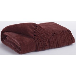 Revere Burgundy Throw Set of 3