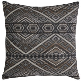 Erata Gray and Brown Pillow Set of 4