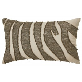 Akari Brown and Cream Pillow Set of 4