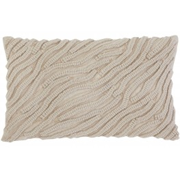 Stitched Whites Natural Pillow Set of 4