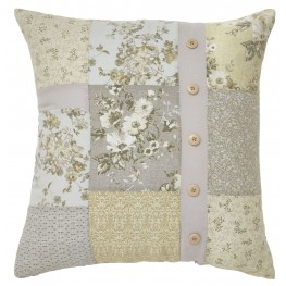 Josey Yellow and Cream Pillow Set of 4