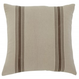 Striped Natural Pillow Set of 4