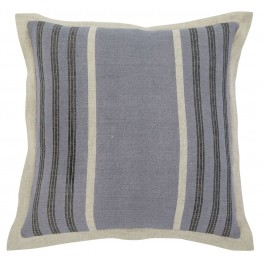 Striped Blue Pillow Set of 4