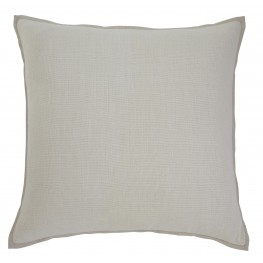 Solid Ecru Pillow Cover Set of 4