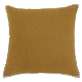 Solid Mustard Pillow Cover Set of 4