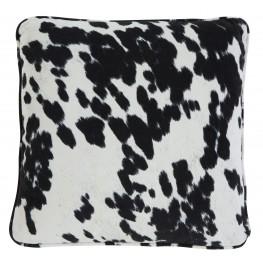Pattern Black Pillow Set of 4