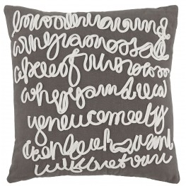 Alfie Gray Pillow Cover Set of 4