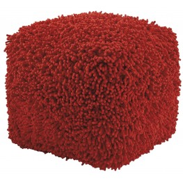 Taisce Red Pouf