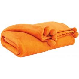 Aniol Orange Throw Set of 3
