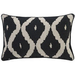 Tildy Black and Natural Pillow Set of 4