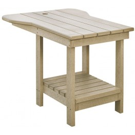 Generations Beige Tete A Tete Upright Table